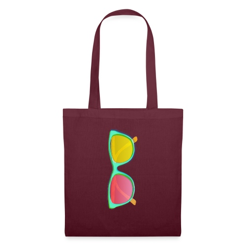 Vintage Retro Glasses Pop Art Style - Tote Bag