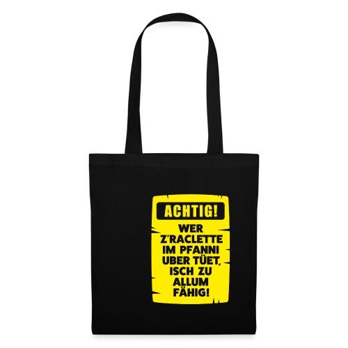 ACHTIG RACLETTE-PFANNI - Stoffbeutel
