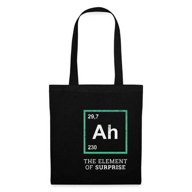 Ah the element of surprise – GREEN