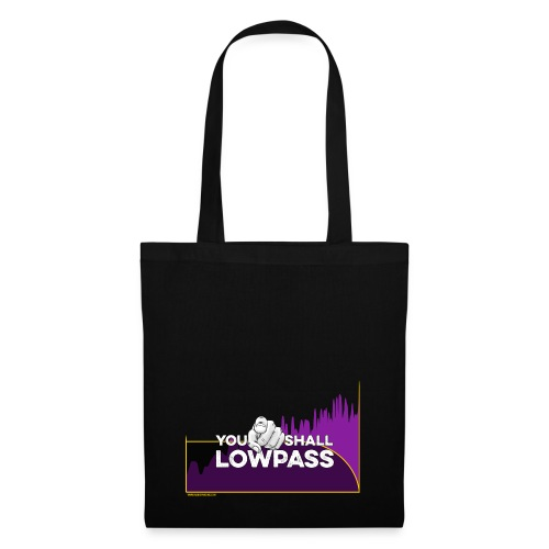You shall Low Pass (Fuschia) - Tote Bag