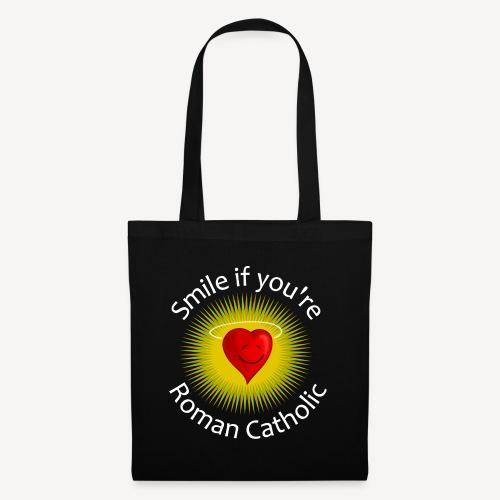 SMILE IF YOU'RE ROMAN CATHOLIC - Tote Bag