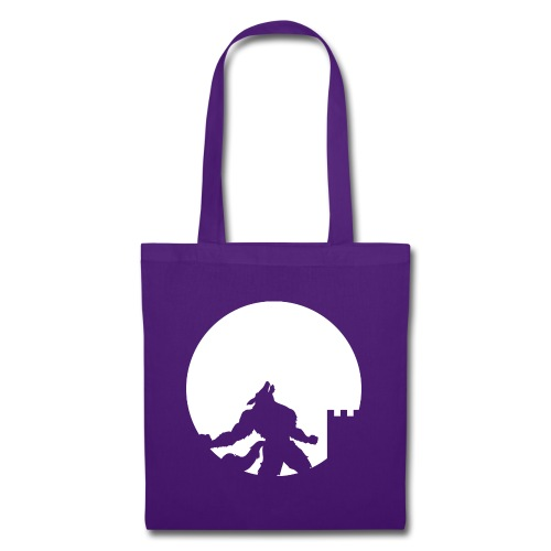 castle night wolf - Borsa di stoffa