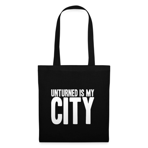 Unturned is my city - Tote Bag