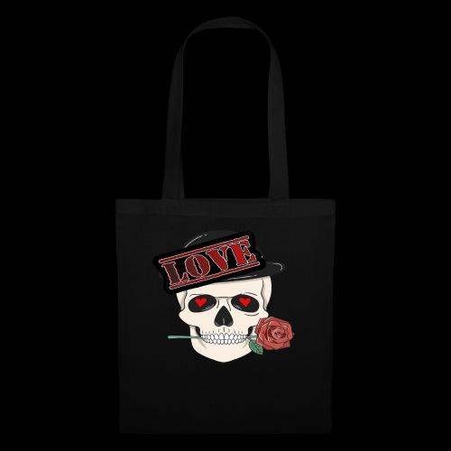 Skull Love - Stoffbeutel