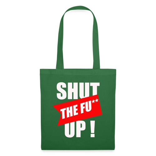 shut ! - Sac en tissu