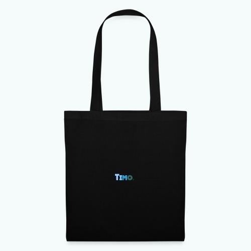 Timo in blauwe tinten - Tas van stof