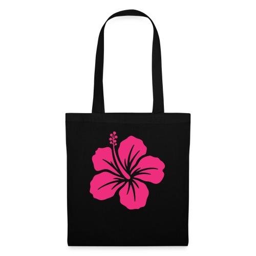 Camisetas, blusas, forros celulares de flor rosada - Bolsa de tela