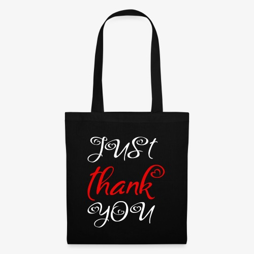 Just Thank you ! - Sac en tissu