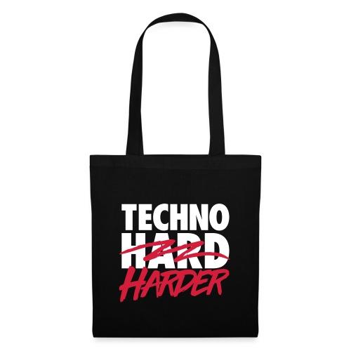 Techno harder - Tote Bag