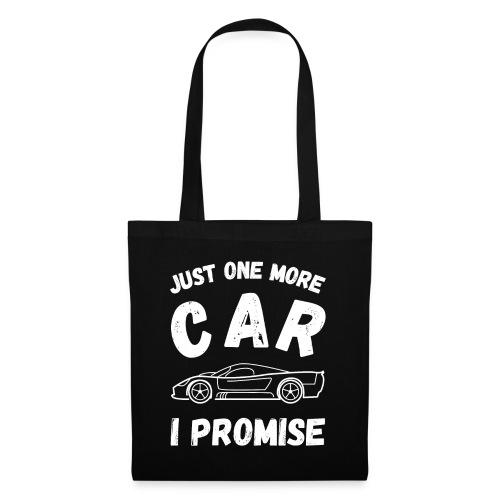 Just one more car, I promise - Stoffveske
