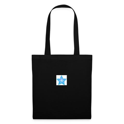 blue themed christmas star 0515 1012 0322 4634 SMU - Tote Bag