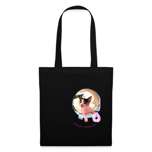 Ready for a cappuchino? - Tote Bag