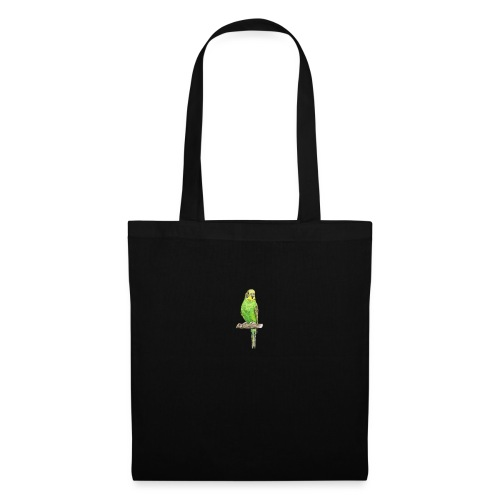 Green bird amazon perico - Bolsa de tela
