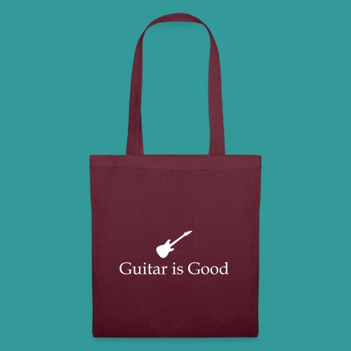 Guitar is Good Logo With Text - Tote Bag