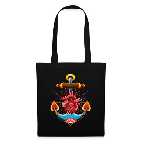 Sailor's Heart - Tattoo design - Tote Bag