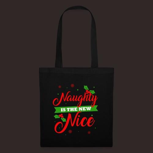 Weihnachten | unartig artig nett - Stoffbeutel
