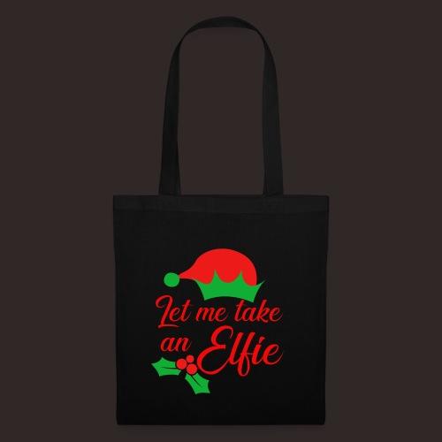 Weihnachten | Elf Mütze Weihnachtself Wortspiel - Stoffbeutel