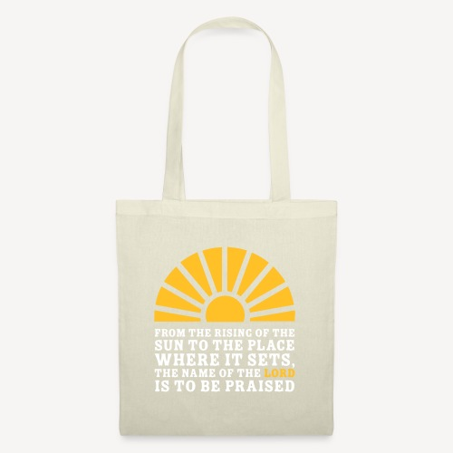FROM THE RISING OF THE SUN - Tote Bag