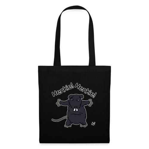 Henkie! Henkie! (the plush rat) - Tote Bag