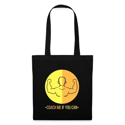 Muscle jaune orange - Tote Bag