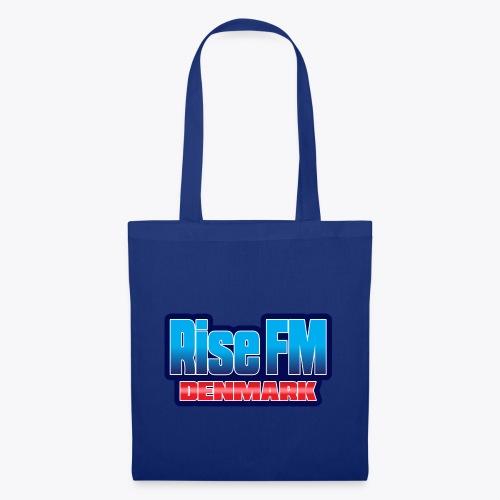 Rise FM Denmark Text Only Logo - Tote Bag