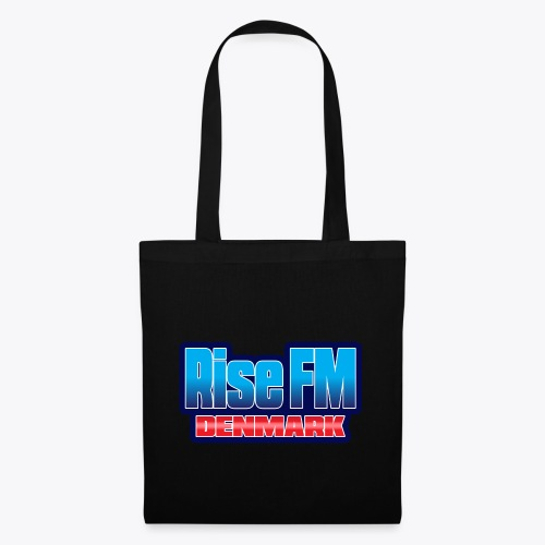 Rise FM Denmark Text Only Logo - Tote Bag