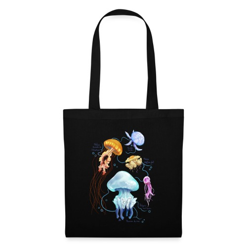 Méduses de France - Tote Bag