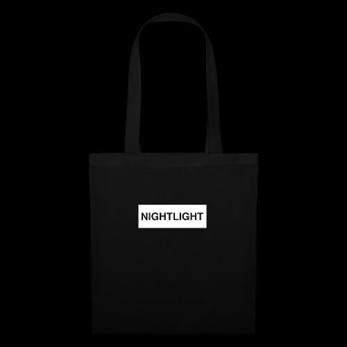 NIGHTLIGHT BOX LOGO (DAY) - Tote Bag