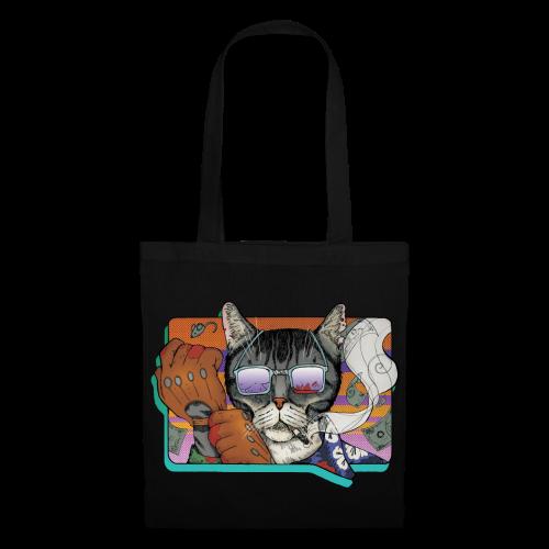 Crime Cat in Shades - Torba materiałowa