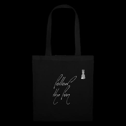 Follow the fun Christmas bunny - Tote Bag