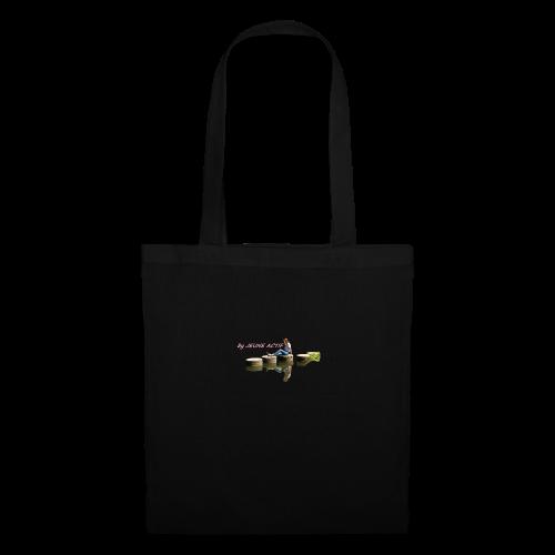 Femme brune sur pillier - Tote Bag