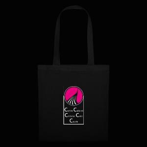 ROND CARRE VERTICAL MAGENTA - Tote Bag