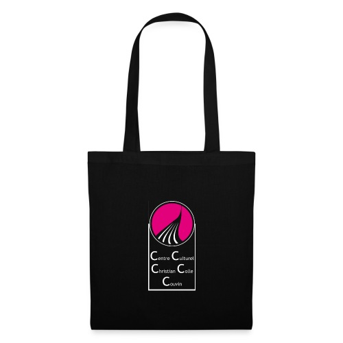 ROND CARRE VERTICAL MAGENTA - Tote Bag