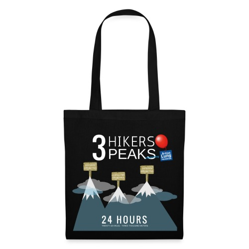 3 Hikers 3 Peaks - Tote Bag