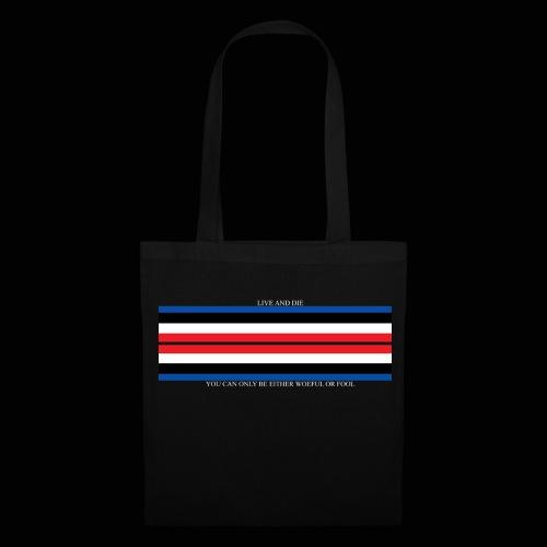 Live and Die ORIGINAL DRK - Tote Bag
