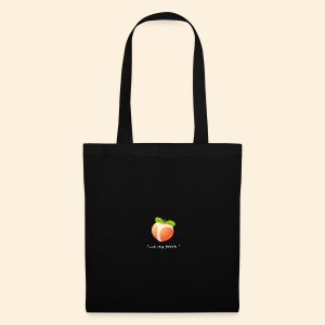 Look my peach in white - Tote Bag