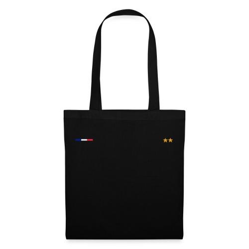 Drapeau Français Double Etoile Classe - Tote Bag