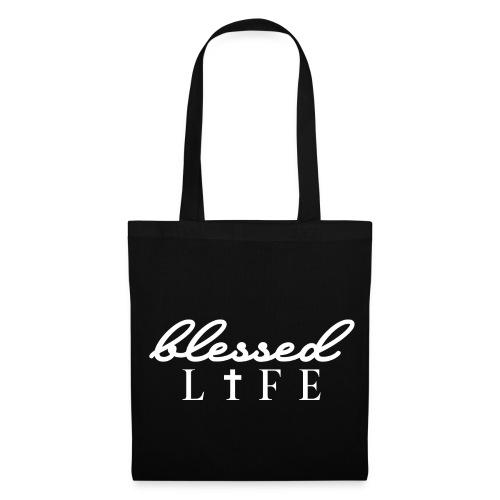 Blessed Life - Jesus Christlich - Stoffbeutel