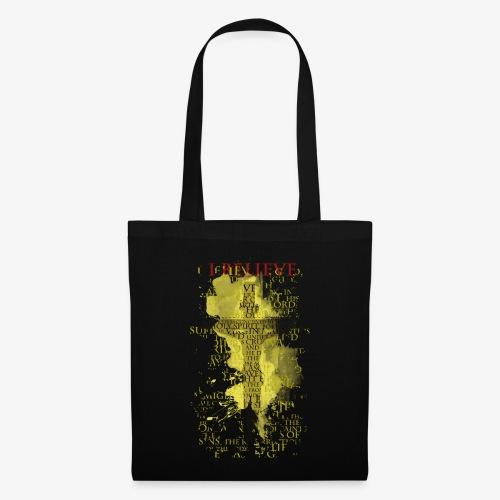 I believe / wierzę (yellow-żółty) - Torba materiałowa