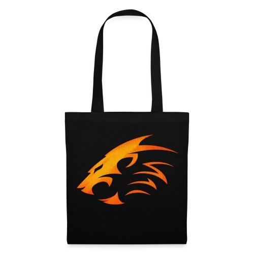 Rian The Lion Orange Logo - Tygväska