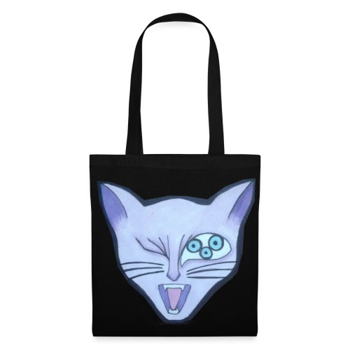 Crazy Cat - Tote Bag