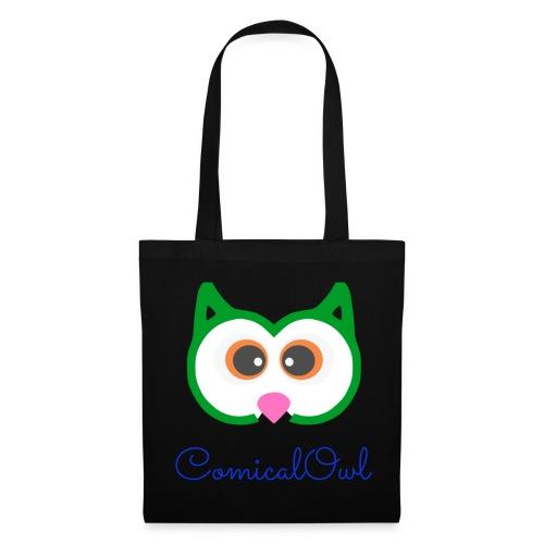 Cartoon Owl - Tote Bag