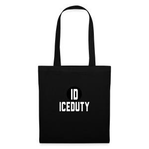 IceDuty T-Shirt Zwart - Tas van stof