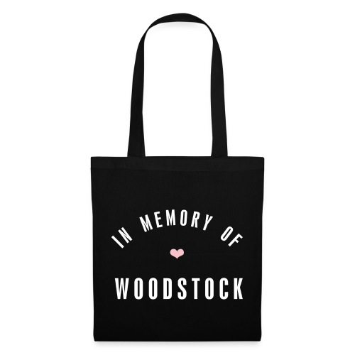 In MEmory of woodstock - Stoffbeutel