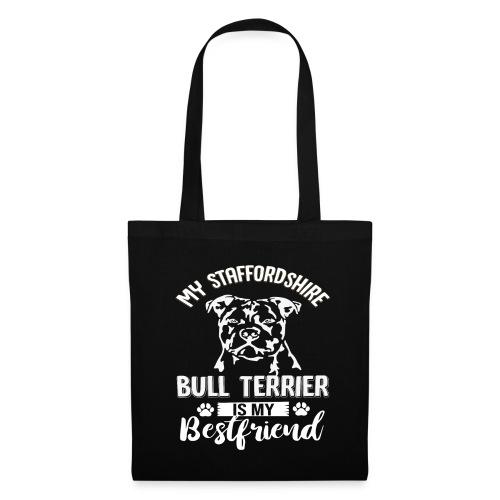 STAFFORSHIR- BULLTERRIER-BEST-FRIEND - Stoffbeutel