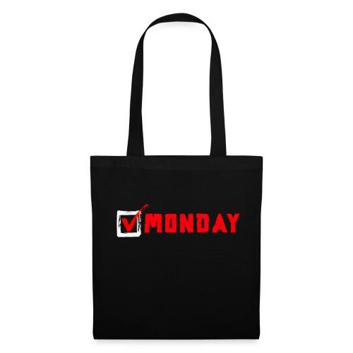 Monday at Work - Borsa di stoffa