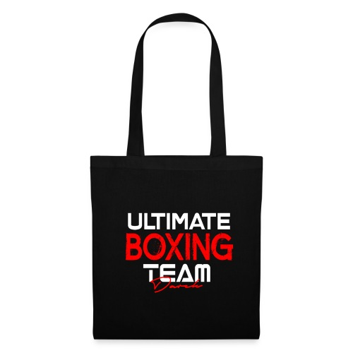 Ultimate Boxing Schwarz - Stoffbeutel
