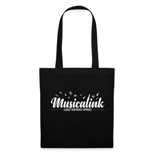 Musicalink white - Tote Bag