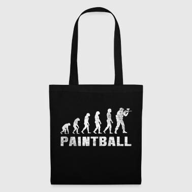 Evolution Paintball Shirt - Paintball T-Shirt - Tote Bag