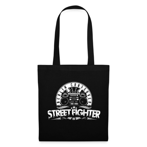 Street Fighter Band White - Stoffbeutel